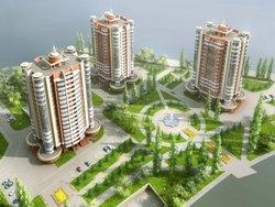 Проект 17-этажного жилого дома Оренбург